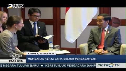 Presiden Terima Kunjungan Premier New South Wales