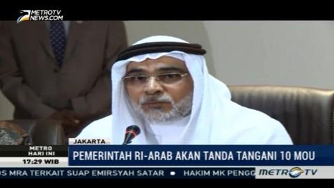Dubes Arab Gelar Konferensi Pers Jelang Kedatangan Raja Salman