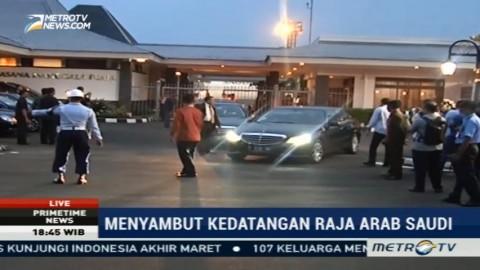 Rombongan Kedua Arab Saudi Tiba di Bandara Halim