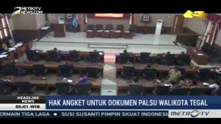 Selidiki Dokumen Palsu Wali Kota, DPRD Kota Tegal Gulirkan Hak Angket