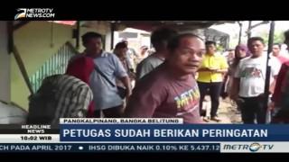 Penertiban Lapak PKL di Pangkalpinang Diwarnai Aksi Protes