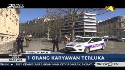 Bom Amplop Meledak di Kantor IMF Paris