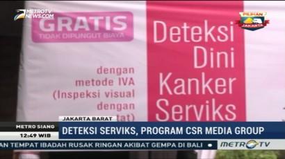 CSR Media Group Gelar Deteksi Dini Kanker Serviks