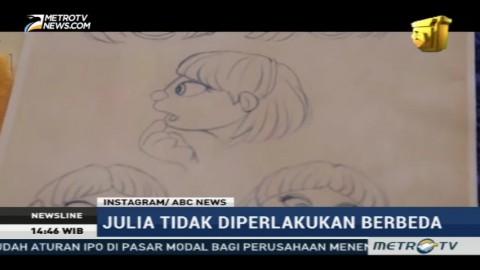Perkenalkan Julia, Karakter Sesame Street Baru Penyandang Autisme