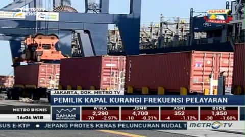 Industri Tambang Anjlok, Pelayaran Lesu