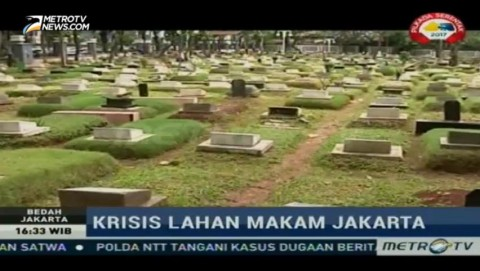 Krisis Lahan Makam Jakarta (1)