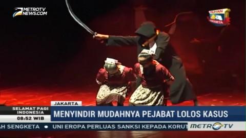 Potret Hukum Indonesia di Teater Hakim Sarmin