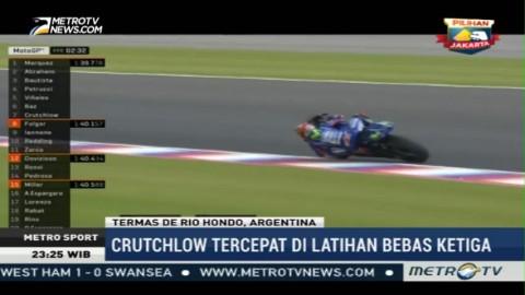 Crutchlow Tercepat di Latihan Bebas Ketiga GP Argentina