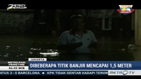 Banjir Genangi Kawasan Kebon Jeruk dan Petogogan