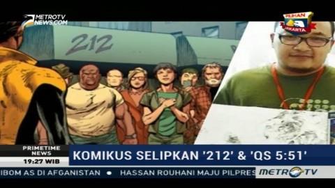 Komikus Indonesia Selipkan 212 dan QS 5:51 di Komik X-Men