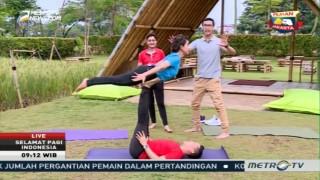 Acroyoga, Olahraga Gabungan Akrobatik dan Yoga (1)