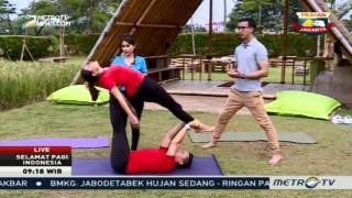 Acroyoga, Olahraga Gabungan Akrobatik dan Yoga (2)