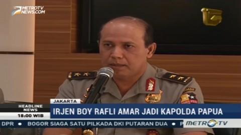 Irjen Boy Rafli Amar Dimutasi Jadi Kapolda Papua