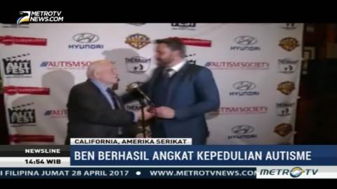 Ben Afflect Terima Penghargaan di Autfest Film Festival