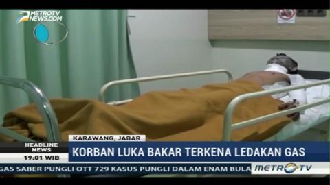 Tabung Gas Meledak di Karawang, 3 Orang Terluka
