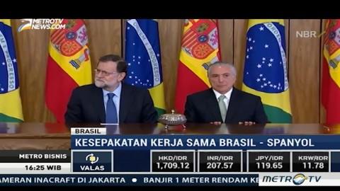 Brasil dan Spanyol Sepakat Jalin Kerja Sama Bisnis