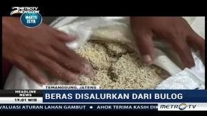 Belasan Karung Rastra di Temanggung Busuk