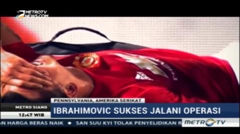 Ibrahimovic Sukses Jalani Operasi Lutut