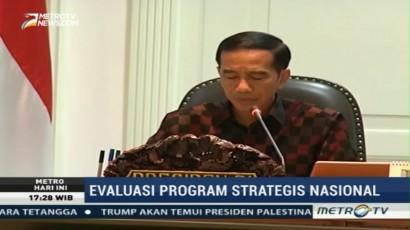 Jokowi: Proyek Nasional Harus Berdampak Pada Perekonomian Daerah