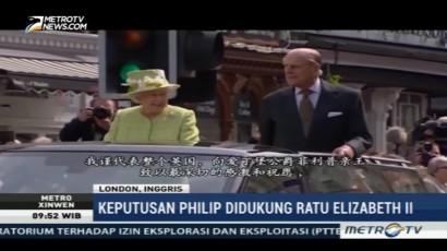 Ratu Elizabeth II Dukung Keputusan Pensiun Pangeran Philip