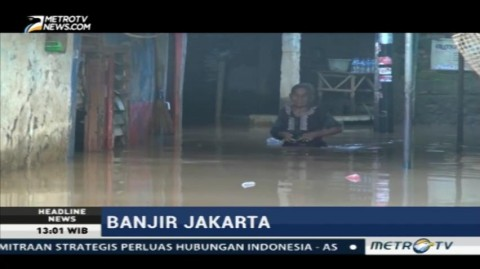 Curah Hujan Tinggi, Pemukiman Kebon Pala Banjir