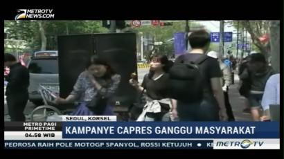 Masyarakat Korsel Terganggu oleh Kampanye Capres