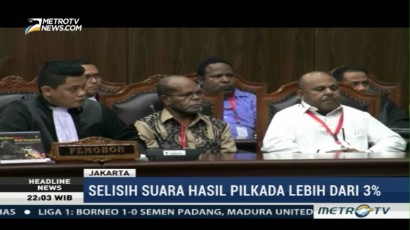 MK Gelar Sidang Gugatan Pilkada Kabupaten Intan Jaya