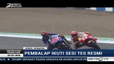 Vinales Tercepat di Sesi Tes MotoGP Herez