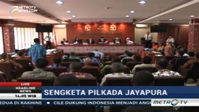 Sidang Perdana Sengketa Pilkada Jayapura Agendakan Dengar Pokok Pengaduan