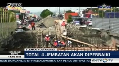 Jalur Utama Yogyakarta-Solo Diperbaiki