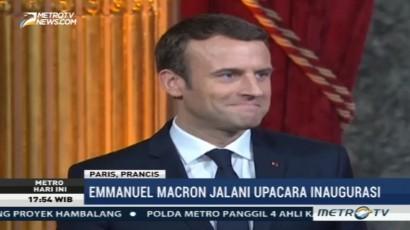 Macron Resmi Jadi Presiden Termuda Perancis