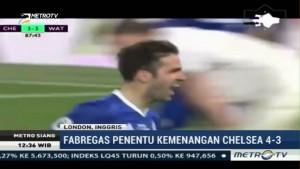 Fabregas Jadi Penentu Kemenangan Chelsea atas Watford