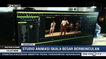 Industri Film Animasi di Indonesia Berkembang Pesat