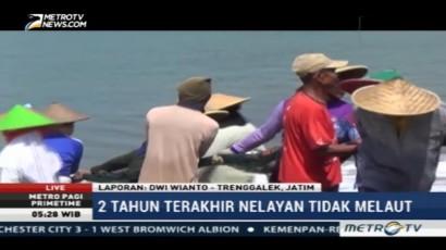 Cuaca Buruk Sebabkan Paceklik Tangkapan Ikan di Trenggalek