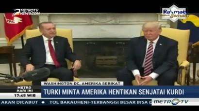 Bertemu Trump, Erdogan Minta Amerika Berhenti Mempersenjatai Kurdi