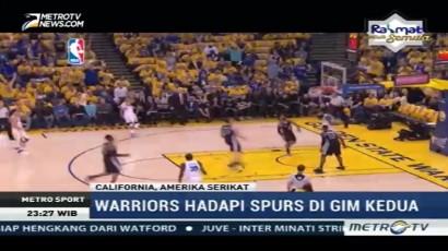 Stephen Curry Bawa Warriors Bungkam Spurs