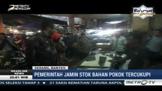 Tim Wantimpres Sidak Harga Pangan di Pasar Induk Rau Serang