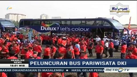 Djarot Resmikan Dua Bus Pariwisata