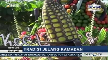 Beberapa Daerah Gelar Tradisi Sambut Bulan Ramadan