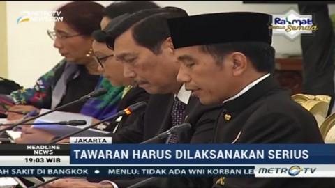 Presiden Minta Menteri Manfaatkan Peluang Kerja Sama dengan Negara Lain