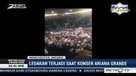 Ledakan Terjadi saat Konser Ariana Grande di Manchester