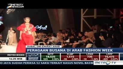 Tiga Desainer Indonesia Pamer Karya di Arab Fashion Week