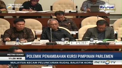 Pembahasan Penambahan Kursi Pimpinan Parlemen Makin Melebar