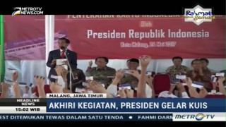 Jokowi Bagikan 1.000 KIP di Malang