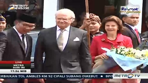 Ratu Swedia Puji Keindahan Alam Indonesia