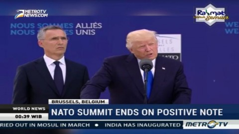 NATO Summit Ends on Positive Note