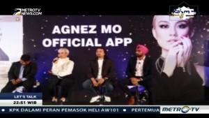 Agnez Mo Luncurkan Aplikasi untuk Berinteraksi dengan Fans
