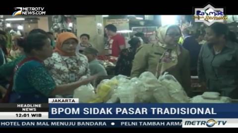 BPOM DKI Sidak Pasar Minggu