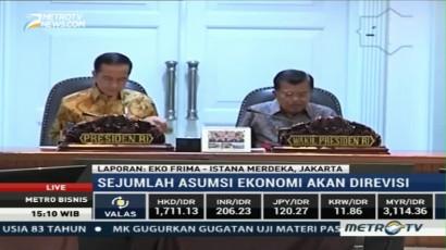 Presiden Jokowi Pimpin Rapat Pembahasan APBNP 2017