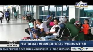 Sriwijaya Air Tergelincir, Penerbangan ke Manokwari Dibatalkan